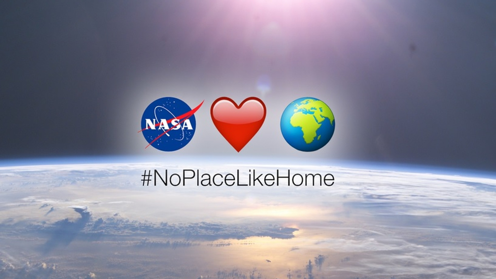 #NoPlaceLikeHome, campaña de la NASA