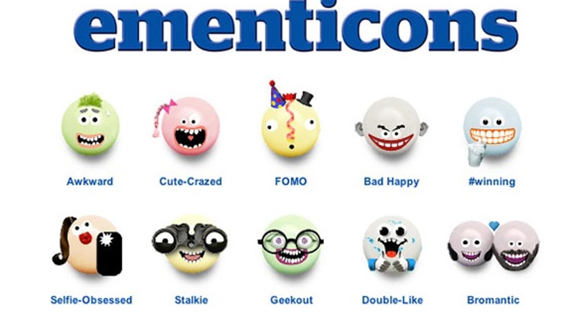Los emoticonos de Mentos
