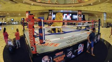 Se agotan mil entradas sacadas a la venta para el combate entre Maywather y Pacquiao en un minuto