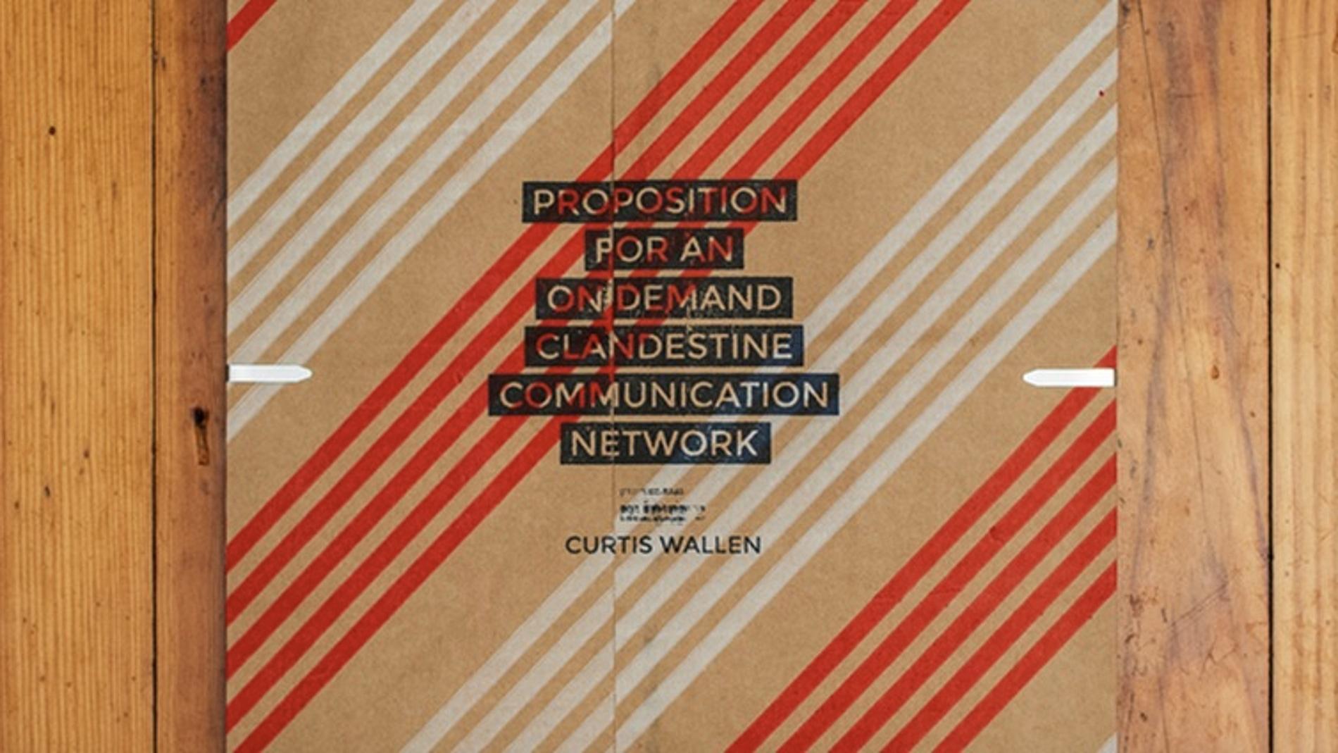 Imagen de la exposición de Curtis Wallen en EEUU