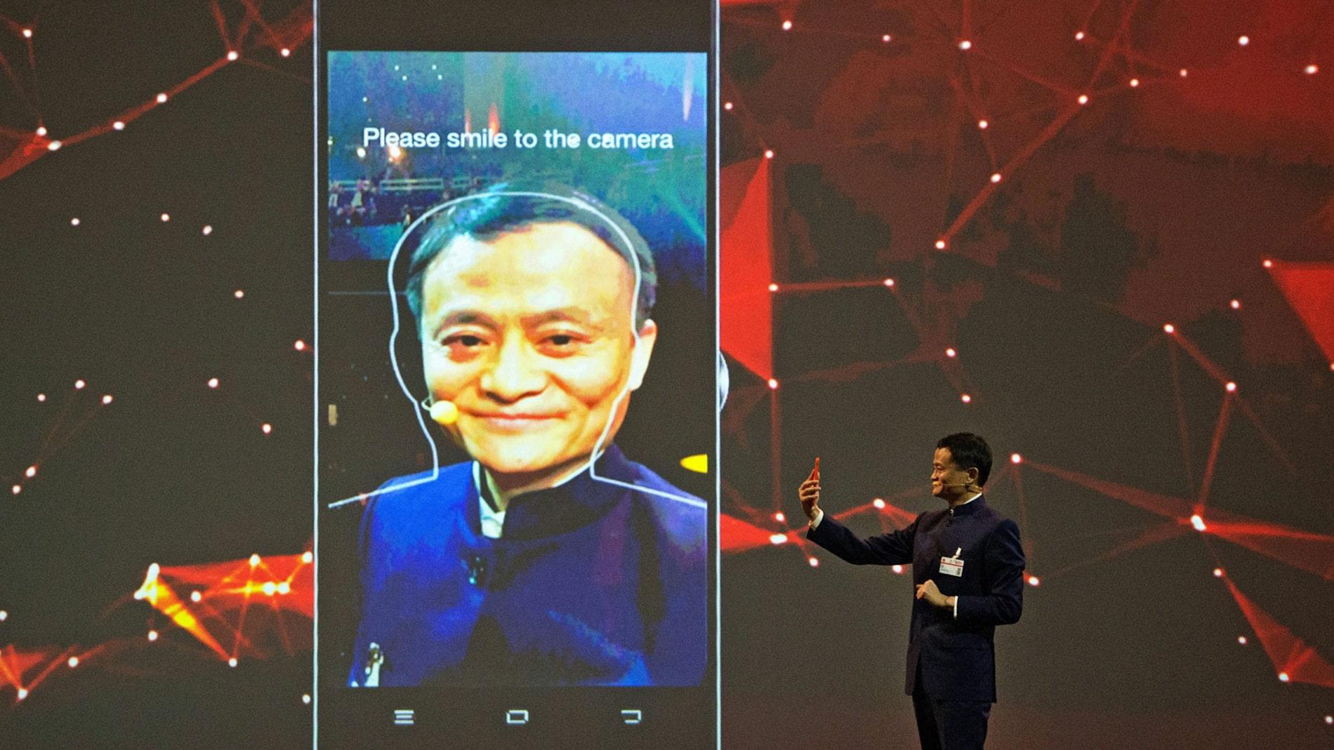 Reconocimiento facial de Alibaba