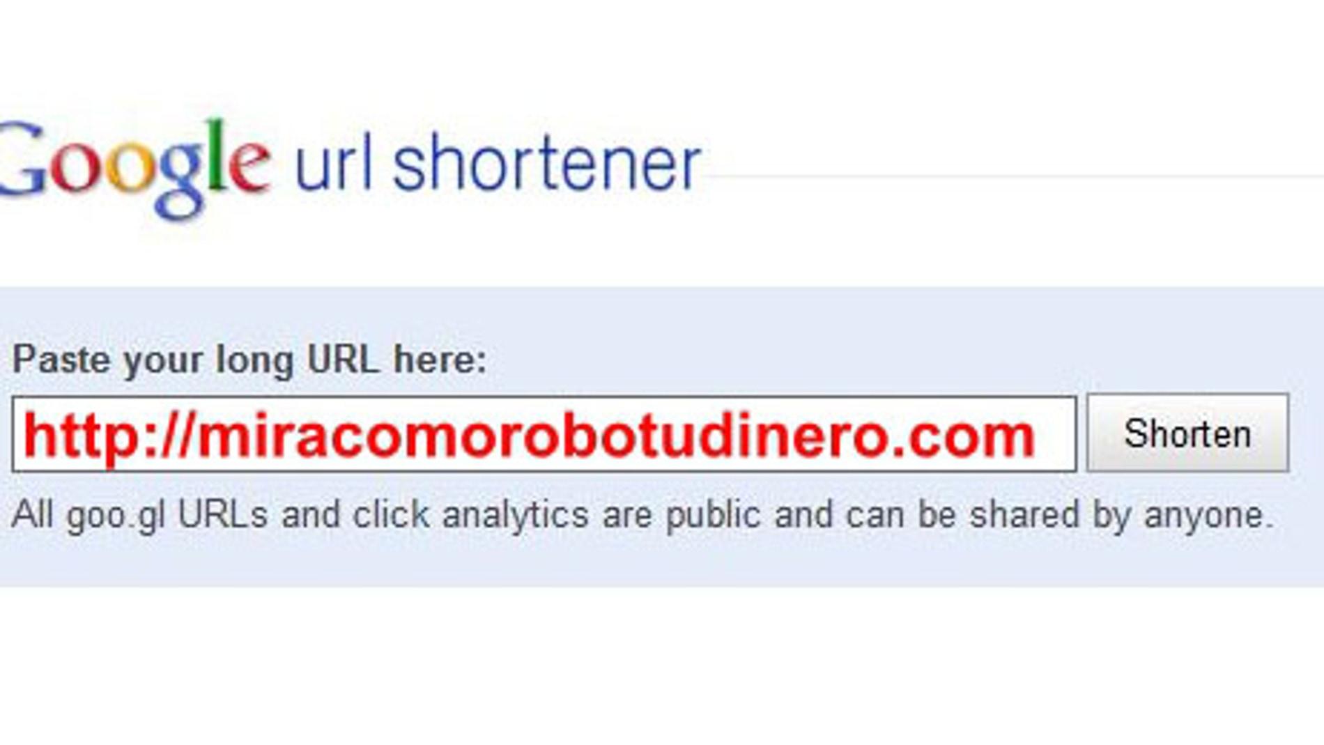 Descubre los peligros de los acortadores de URL