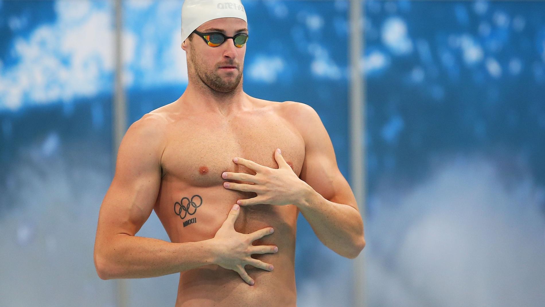 Los nadadores son mejores en la cama