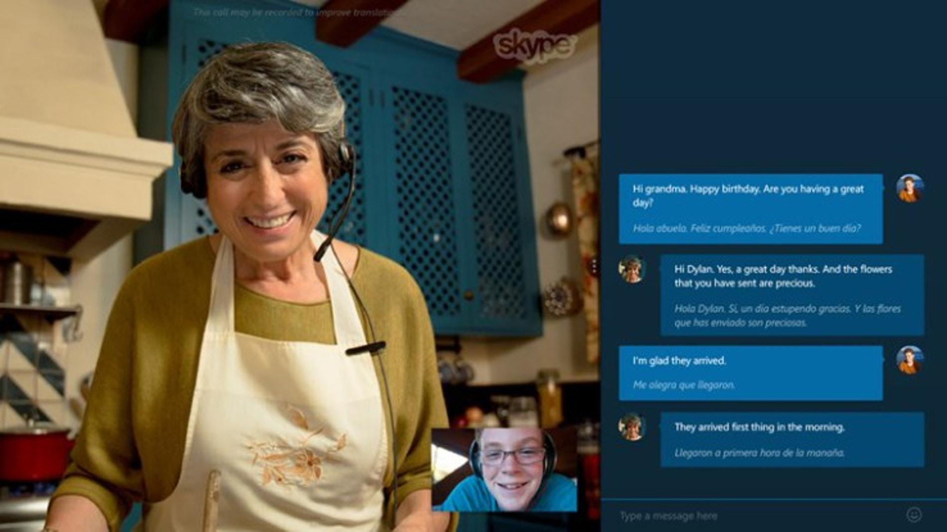 Skype ya traduce simultáneamente