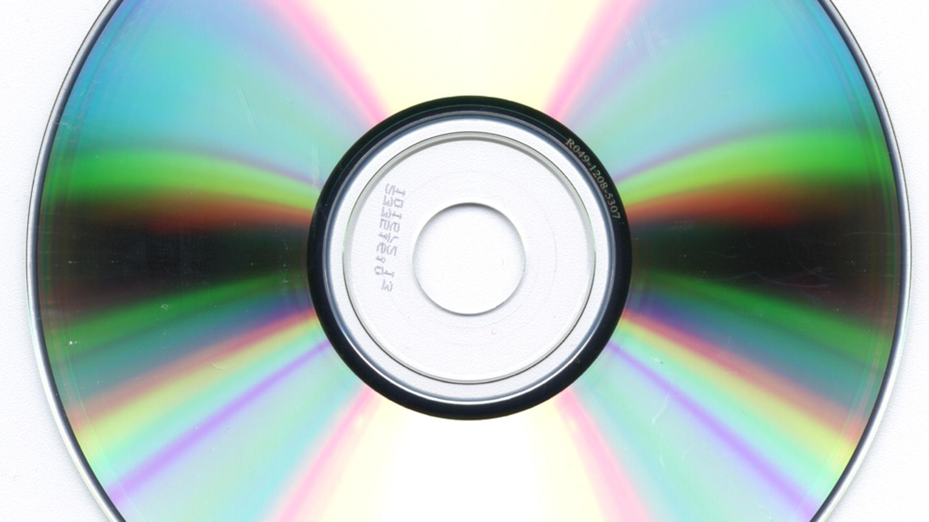 Aspecto de un CD ROM