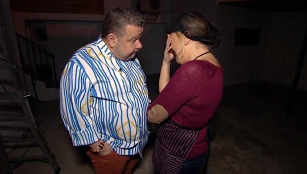 Mónica se derrumba con Chicote