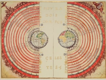 Modelo geocéntrico del universo, defendido por Ptolomeo y por uno de cada cuatro españoles