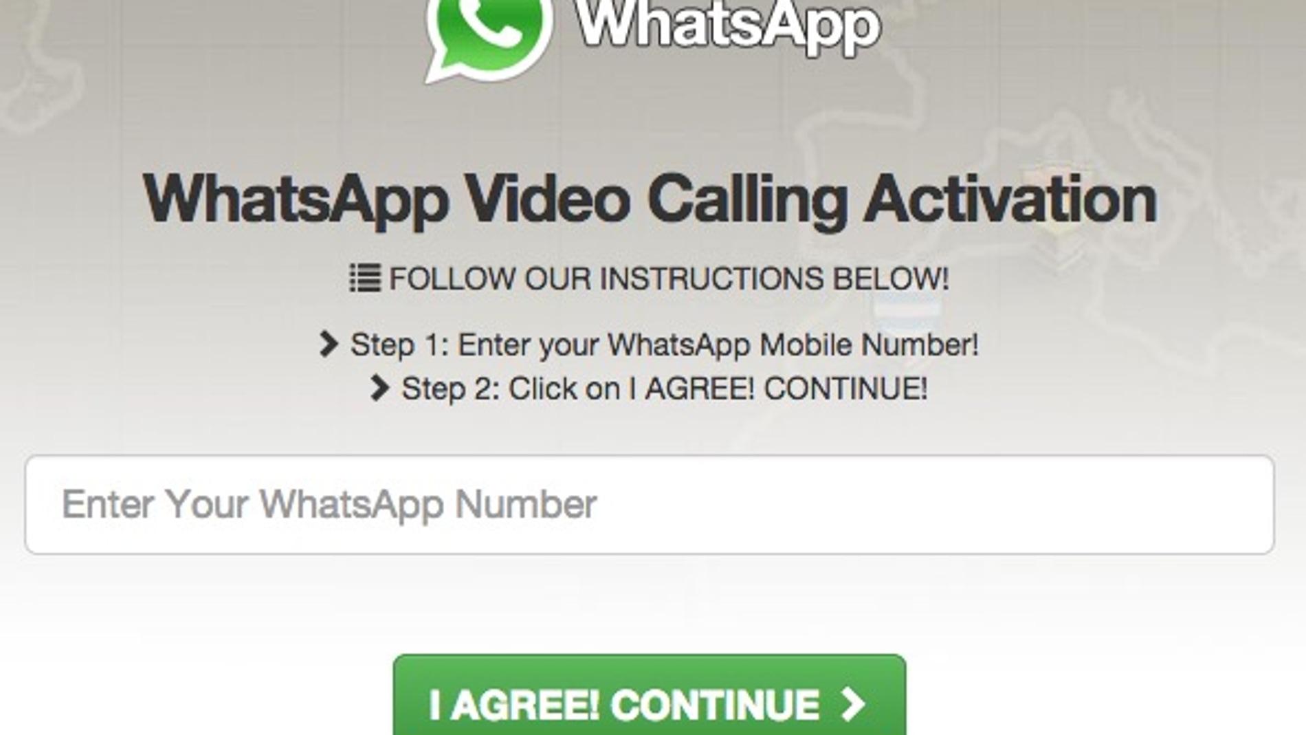 Captura de la web de la nueva amenaza de seguridad en WhatsApp