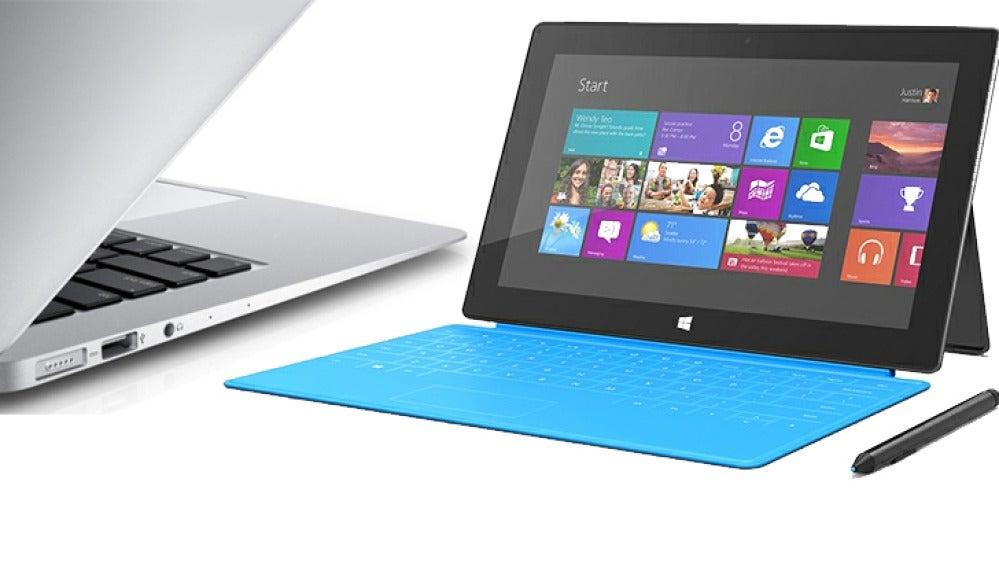 El MaBook de 2015 vs la Surface 3