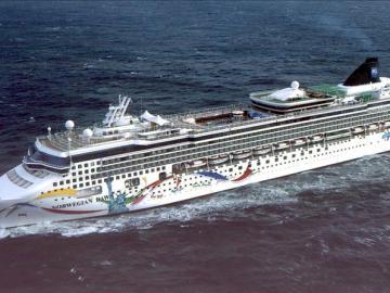 Fotografía de archivo del crucero 'Norwegian Dawn'