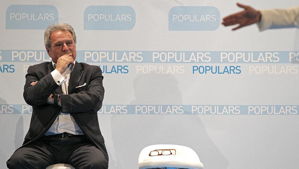 Alfonso Rus, presidente de la Diputación de Valencia y alcalde de Xàtiva