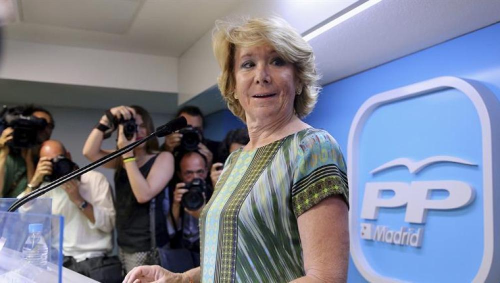Aguirre habla en Génova