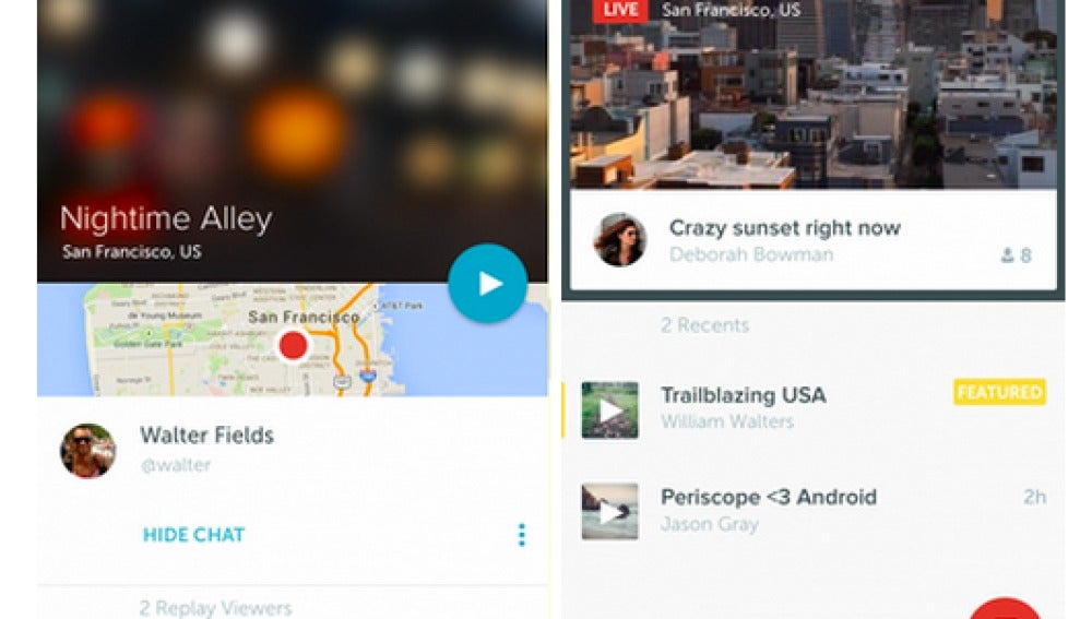 Periscope en Android