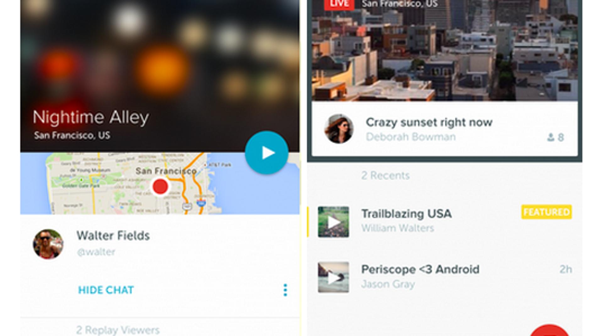 Periscope en Android