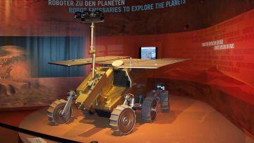 Modelo quasi-definitivo del rover ExoMars