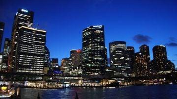 Centro de la ciudad de Sidney, un ejempl
