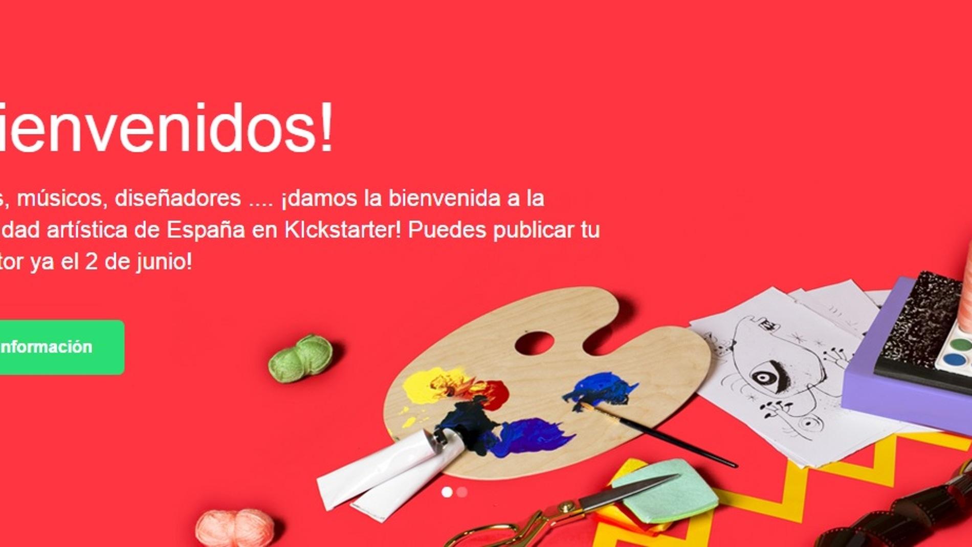 Kickstarter llega a España