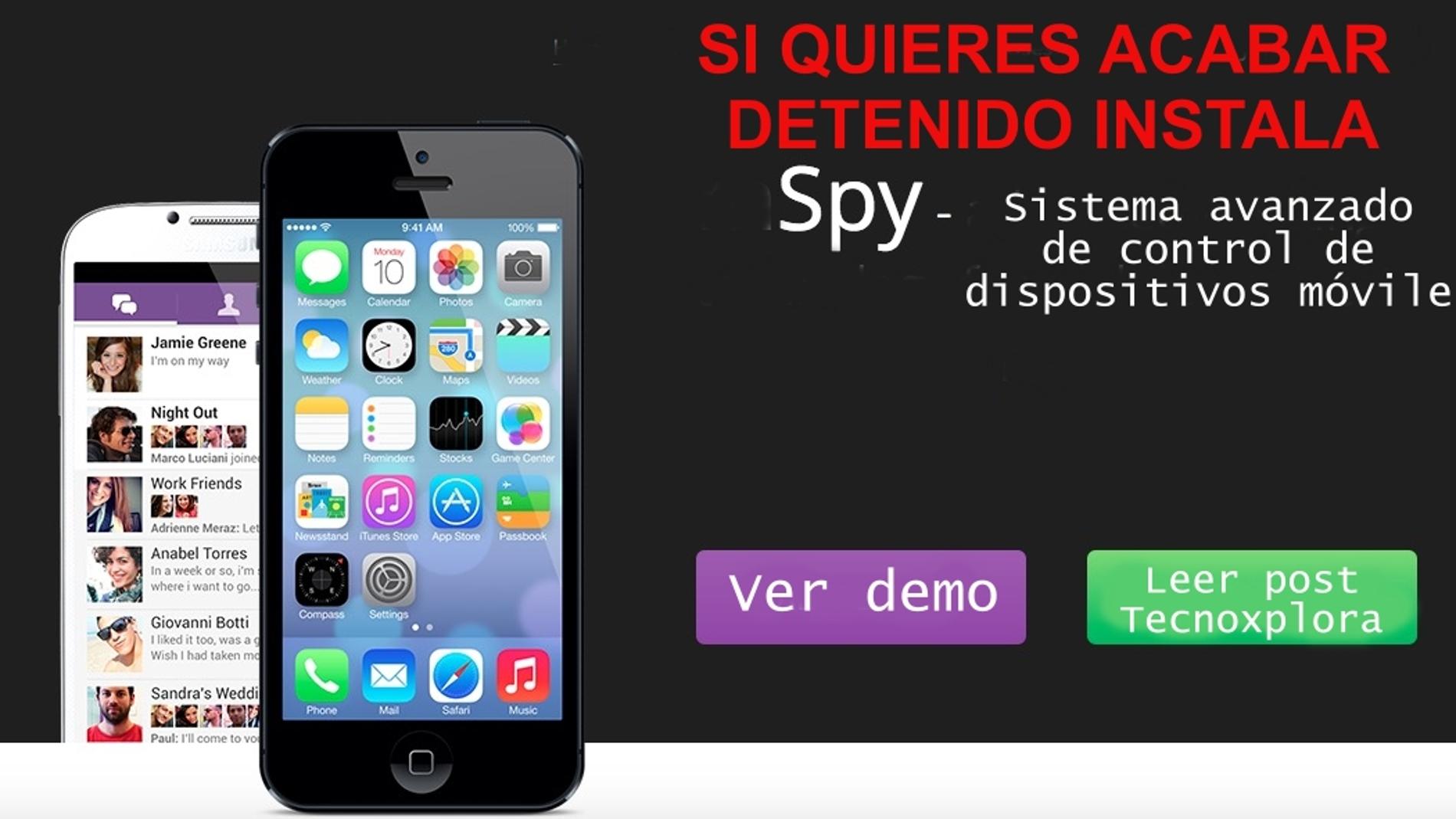 La privacidad de tu móvil, en peligro por el uso de programas espía