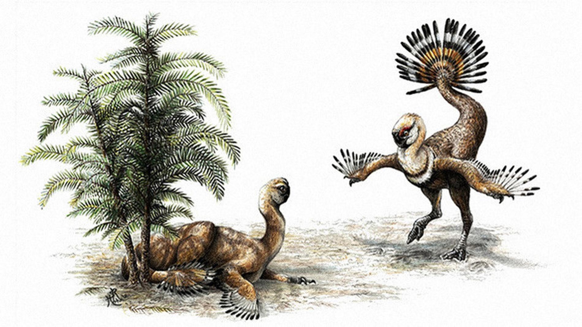 Recreación de los dinosaurios