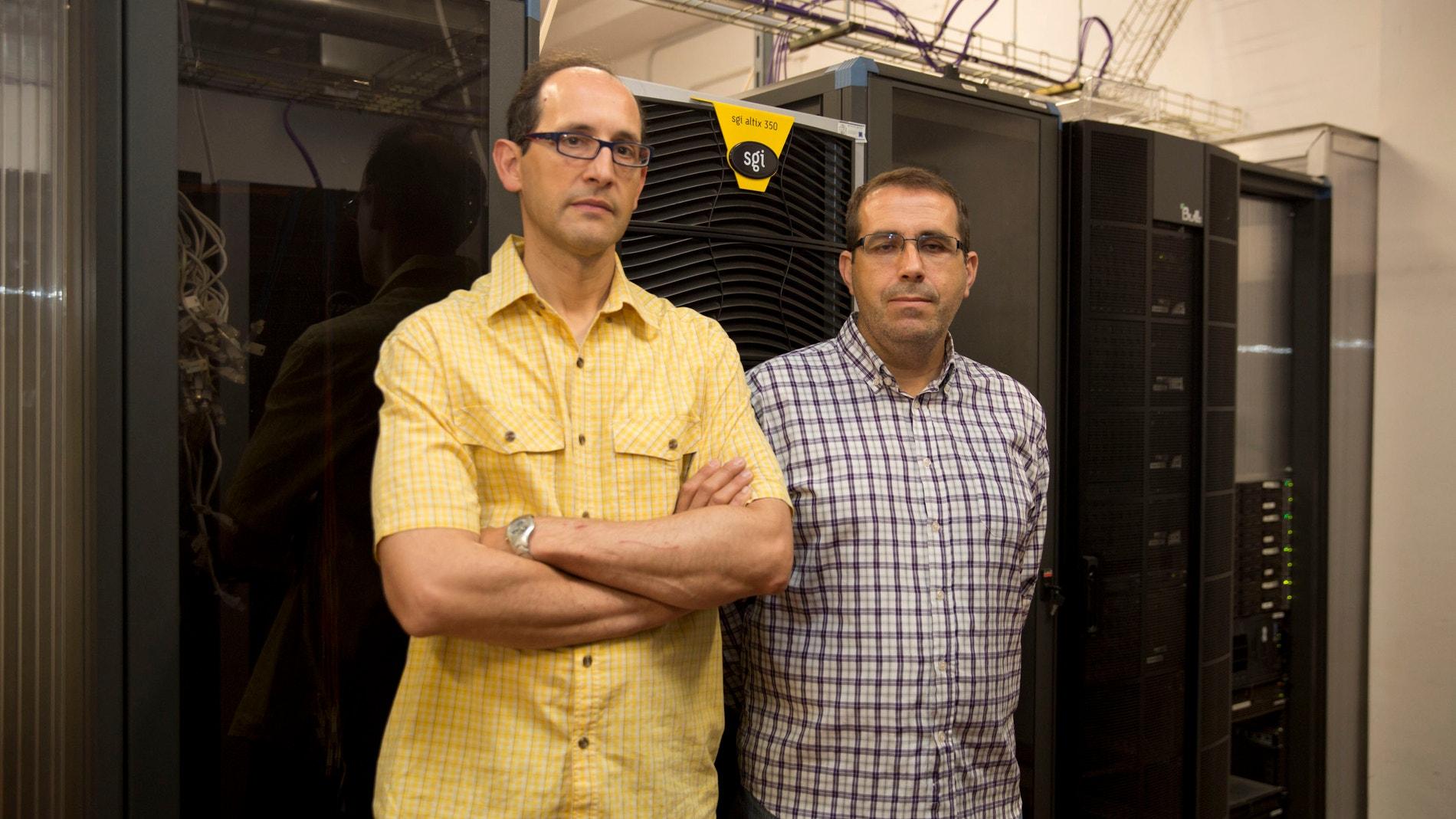 Los investigadores de la UJI Enrique Qui