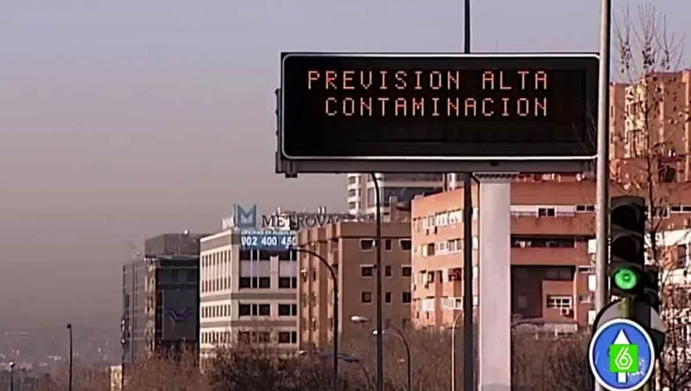 Rótulo de alta contaminación