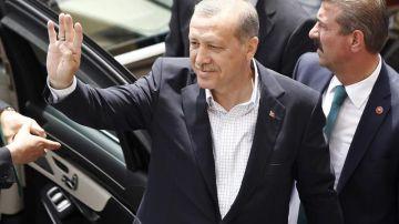 El presidente de la República de Turquía, Recep Tayyip Erdoğan.