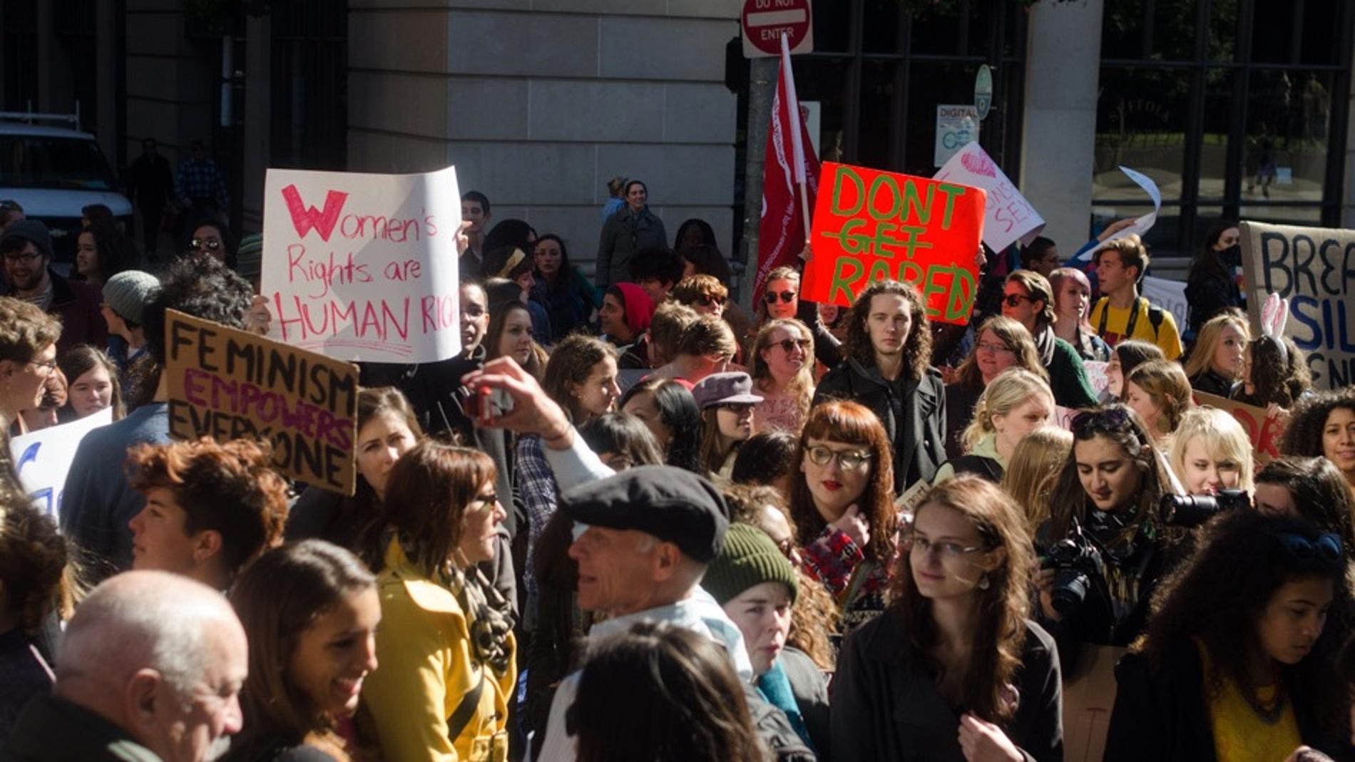 Protesta en Boston, Massachusetts