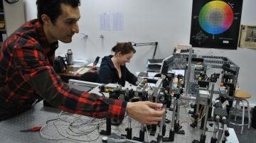 El investigador Reza Atashkhooei, del eq