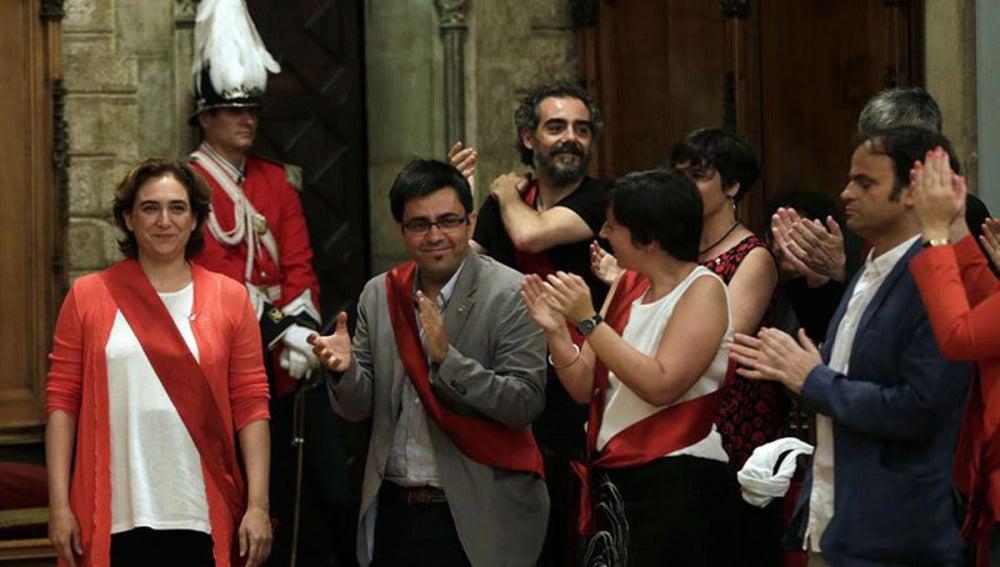 Ada Colau nueva alcaldesa de Barcelona