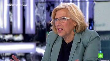 Manuela Carmena, en 'El Objetivo' 2