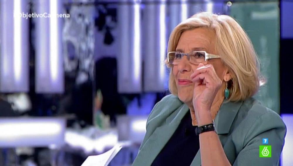 Manuela Carmena, en 'El Objetivo' 5