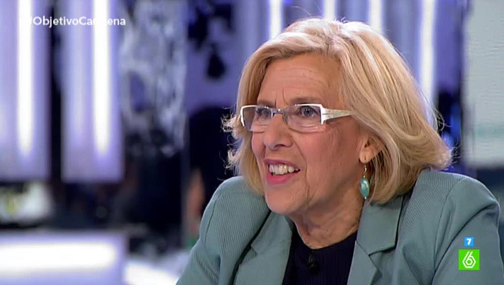Manuela Carmena, en 'El Objetivo' 1