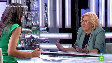 Manuela Carmena, en 'El Objetivo' 3