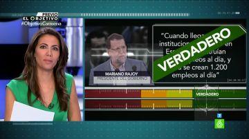 Ana Pastor realiza una prueba de verificación