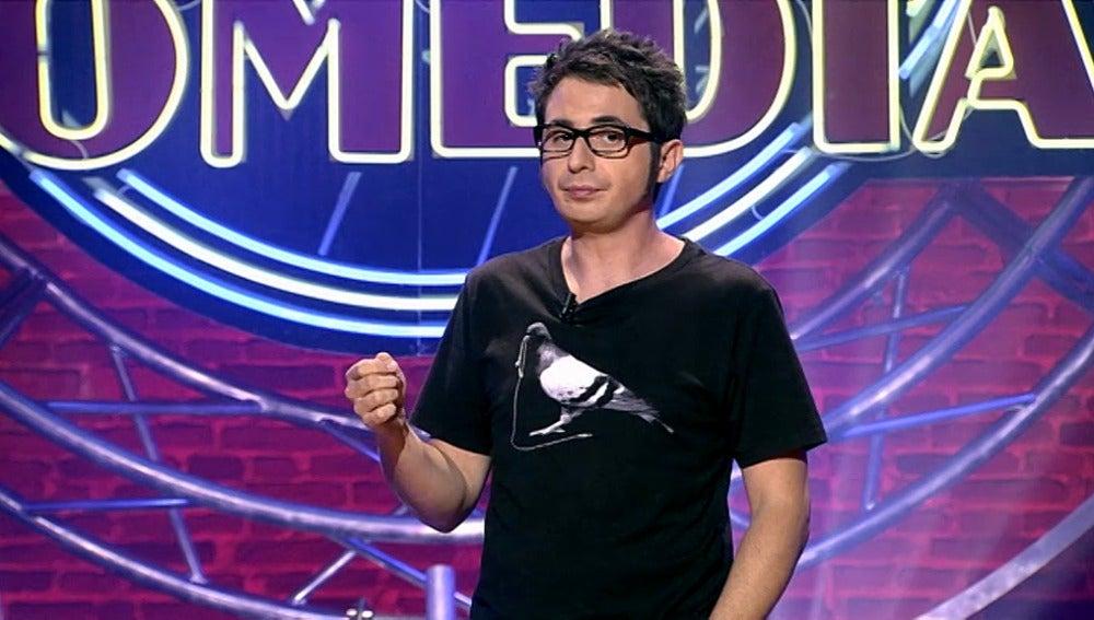 Berto Romero, en El Club de la Comedia