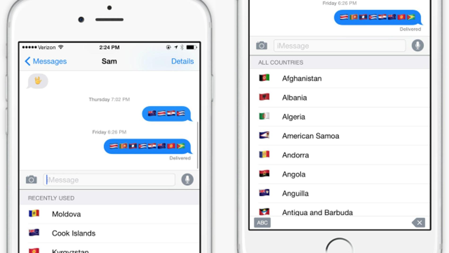 App 'Flags' de Quartz