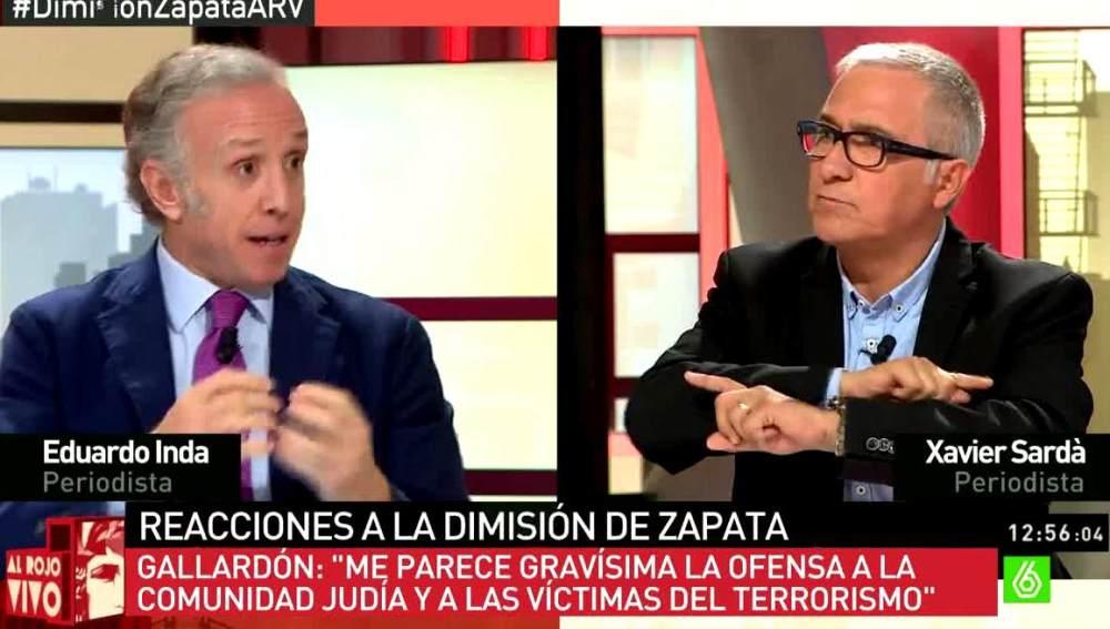 Eduardo Inda y Xavier Sardà