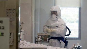 Un paciente con Coronavirus