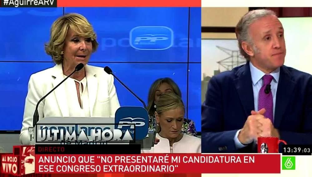 Eduardo (Inda habla sobre Aguirre