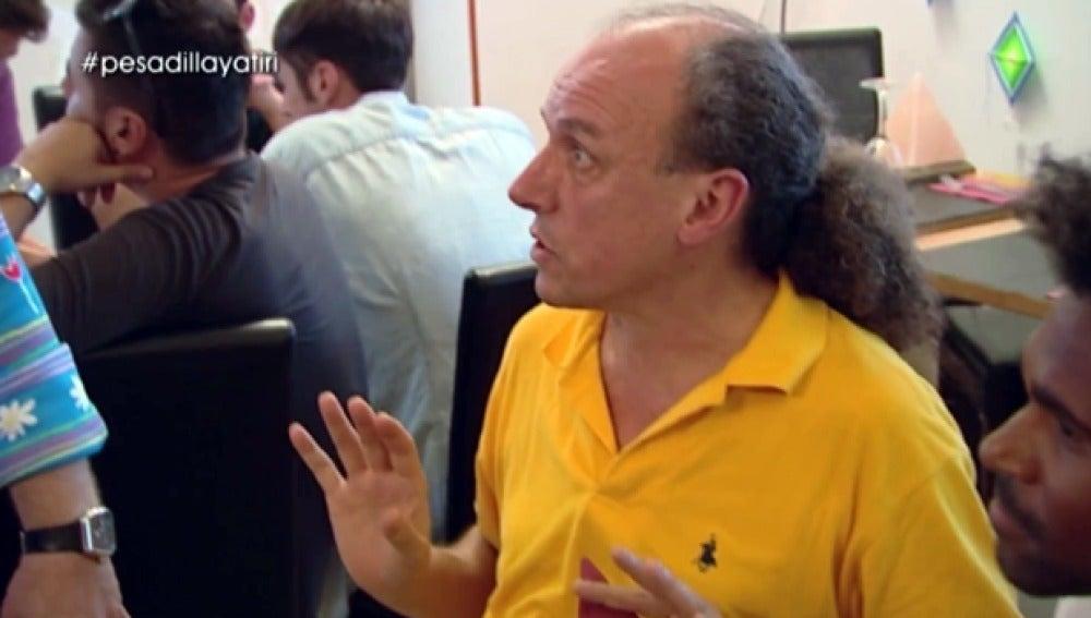 Alberto, el creador del Yatiri