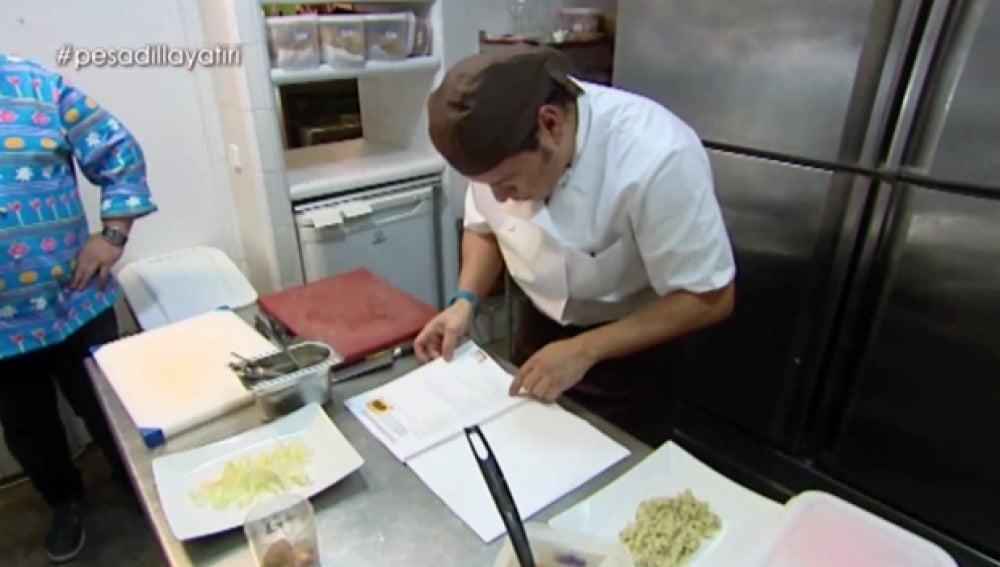 Mario, el cocinero del Yatiri