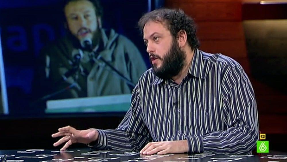 Guillermo Zapata, en 'El Intermedio'