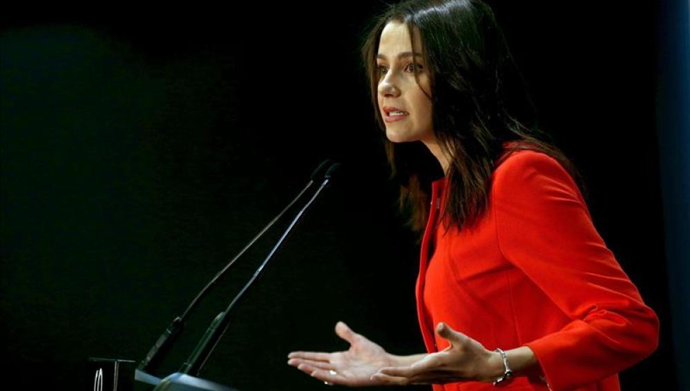 Inés Arrimadas, candidata de Ciutadans a la Generalitat