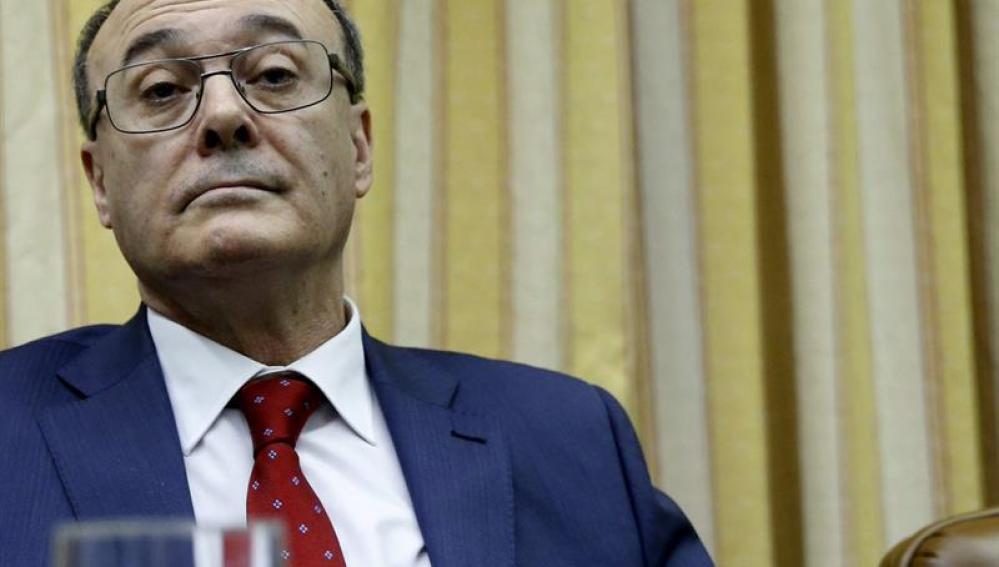 El Gobernador del Banco de España, Luis Maria Linde