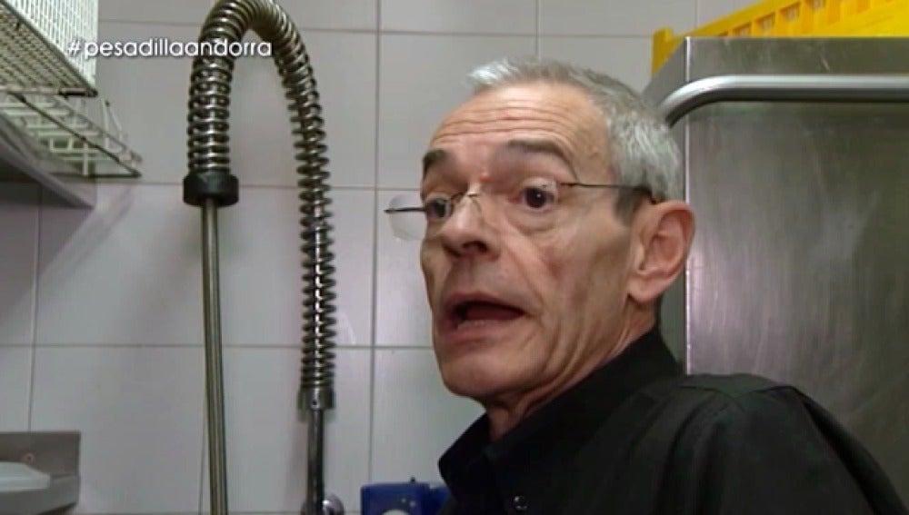 Jaume, el cocinero de L´Olivé