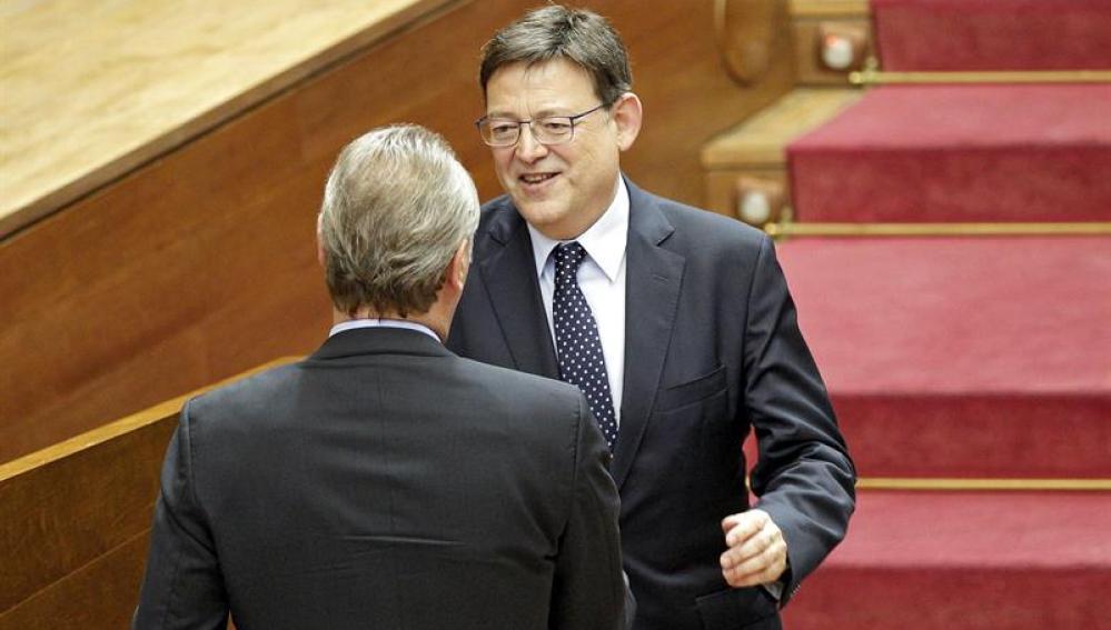 El president de la Generalitat, el socialista Ximo Puig