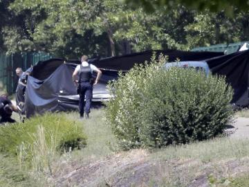 La Policía rodea el lugar del atentado de ISIS en Francia