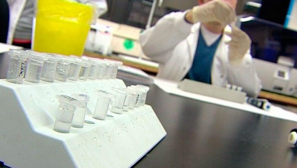 Un laboratorio de vacunas médicas