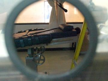 Camilla utilizada para aplicar la inyección letal