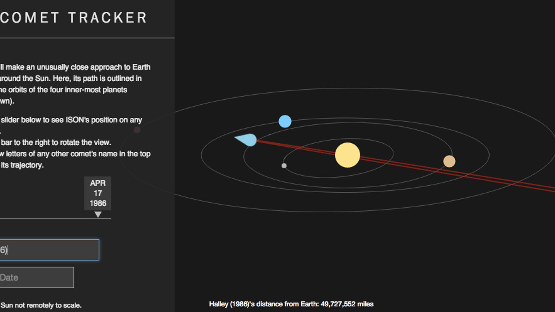 Comet tracker, de Time